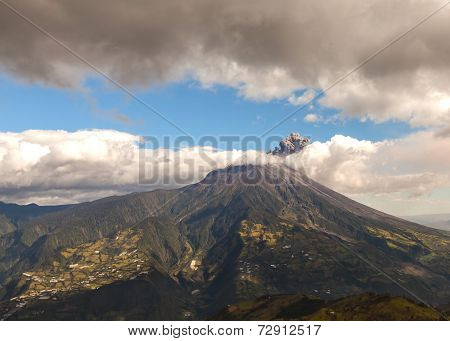 Tungurahua Volcano Devastating Explosion, Ecuador, South America
