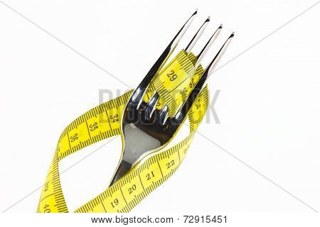 Fork With Meter