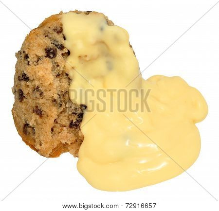 Spotted Dick Sponge Pudding
