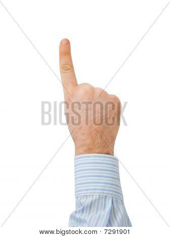 Finger Press The Button