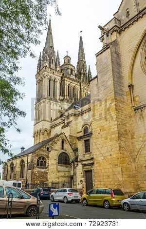 Cathedral In Angers.