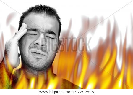 Fiery Burning Pain