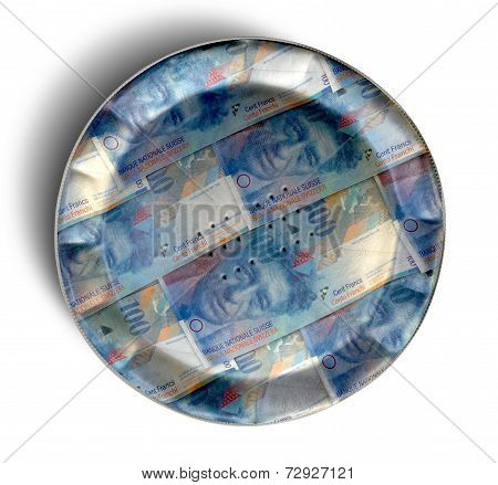 Money Pie Swiss Franc
