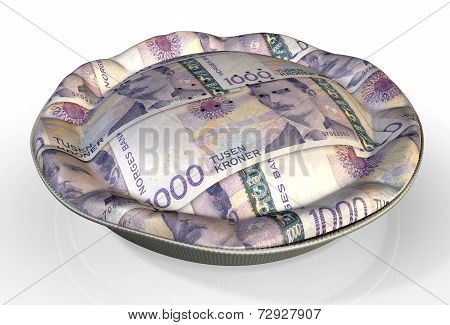 Money Pie Norwegian Kronor