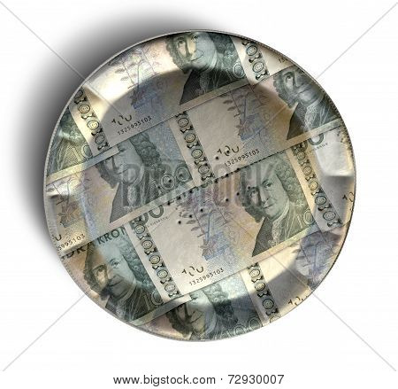 Money Pie Swedish Kronor