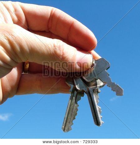 Three Keys Against The Sky