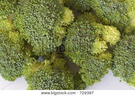 A Pile Of Baby Brocolli
