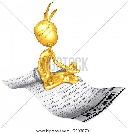 Gold Guy Djinn On Loan Application
