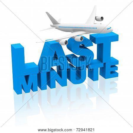last minute flight