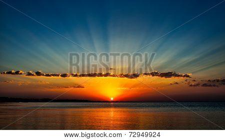 Sunrise on the Red Sea - Egypt