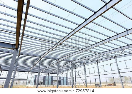 The steel structure
