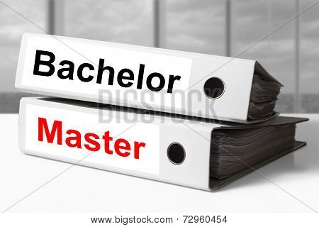 Office Binders Bachelor Master Graduation