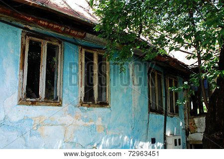 Derelict Building In Travnik