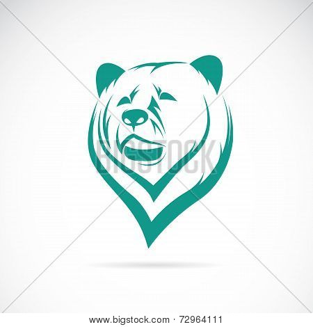 Vector Image Of An Bear Head