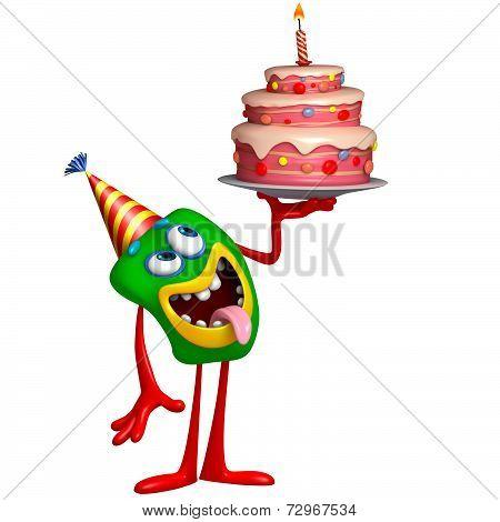 birthday monster