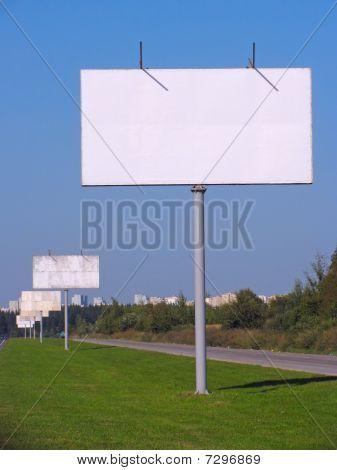 Blank Billboards