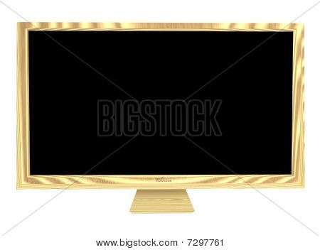 Wooden Television