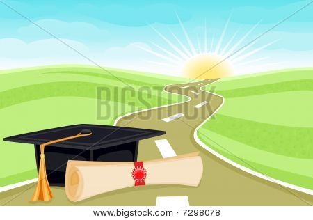 Graduation bright future ahead