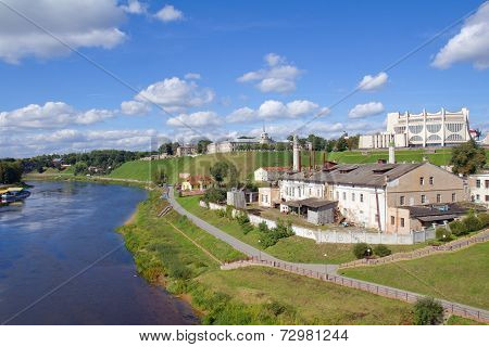 Cityscape View In Grodno, Belarus