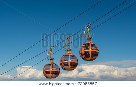 Cable lift to Carmel mountain