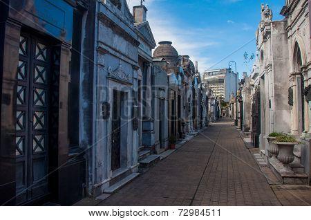 Spectacular La Recoleta Cemetery In Buenos Aires, Argentina