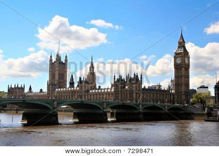 London Bridge And Big Ben