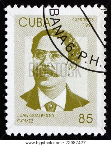 Postage Stamp Cuba 1996 Juan Gualberto Gomez, Revolutionary