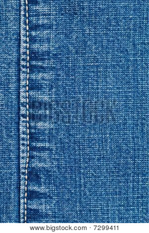 Close-up Of Denim Cloth