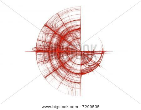 Abstract Fractal Background Design