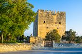 pic of crusader  - Kolossi Castle is a former Crusader stronghold in Kolossi village next to Limassol Cyprus - JPG
