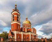 foto of trinity  - Church of the Holy Trinity in Karabanovo Russia - JPG