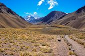 stock photo of aconcagua  - Aconcagua National Park - JPG