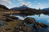 foto of tierra  - Landscapes of Tierra del Fuego South Argentina - JPG