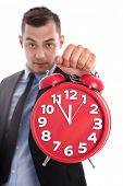 stock photo of sabbatical  - Time is money - JPG