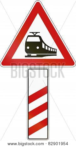 Level Crossing Countdown Marker