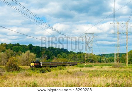 Rural Passenger Train