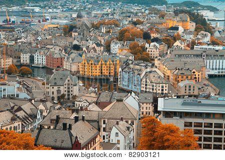 Town Of Aalesund