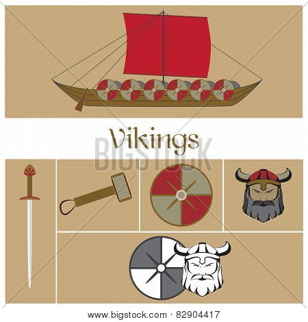 vector viking warrior