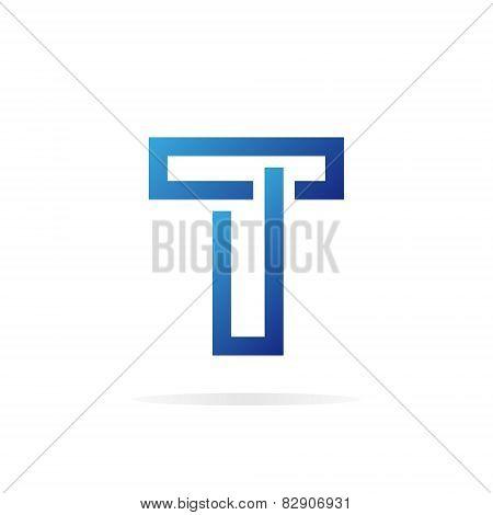 Logo T letter