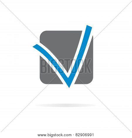Logo V letter