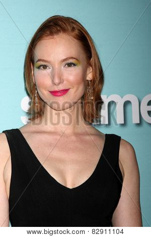 LOS ANGELES - JAN 5:  Alicia Witt at the Showtime Celebrates All-New Seasons Of
