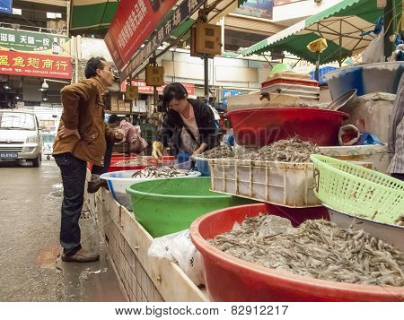 Food Market In Chengdu, China