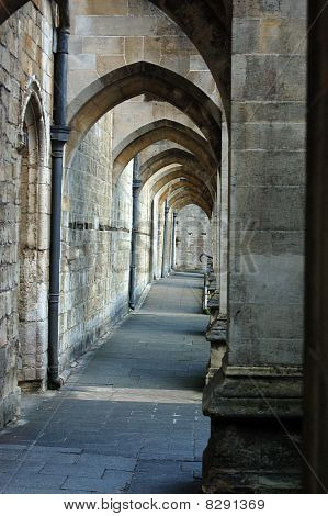 Buttresses, Winchester Cathedral