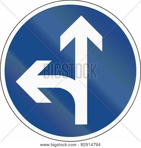 Go Straight Or Left