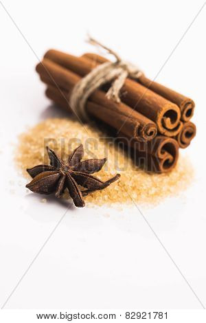 Cinnamon Sticks With Pure Cane Brown Sugar