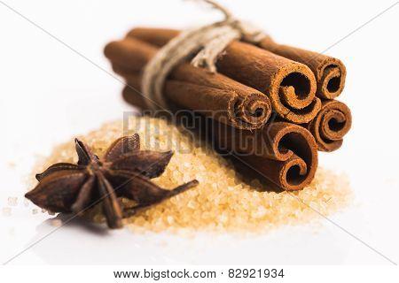 Cinnamon Sticks With Pure Cane Brown Sugar
