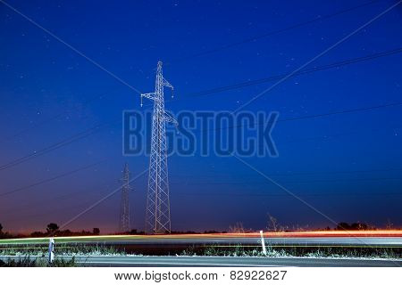 Pylon And Traffic