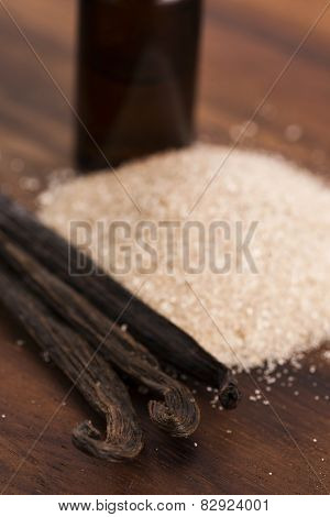 Vanilla Sugar And Vanilla Beans