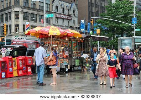 New York Food Stands