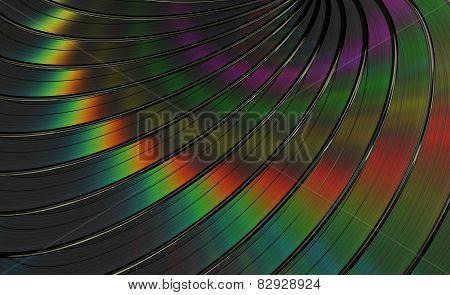 Vinyl Records Background